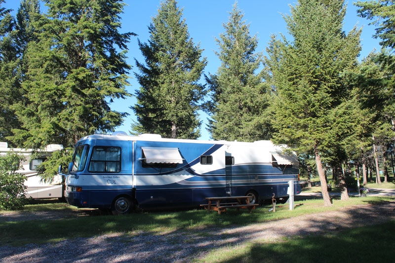 Photo Gallery Of Our Rv Campground And Glacier Park