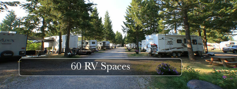60 RV Spaces