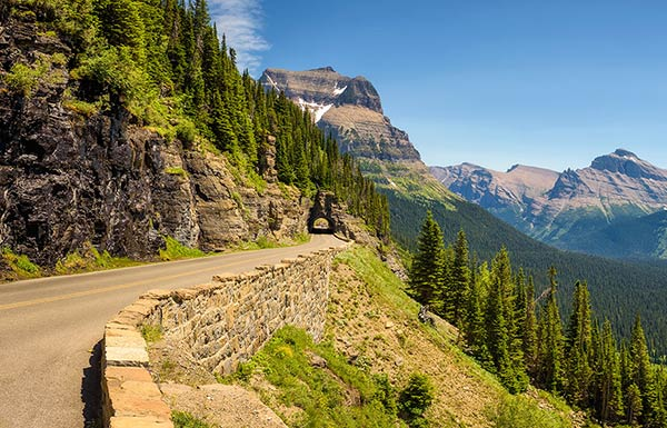 Going-to-the-Sun Road - Glacier National Park